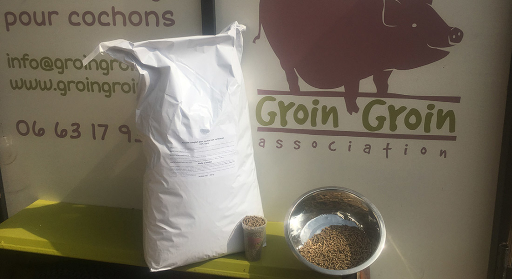 2 mois d'aliment « GroinGroin Classic » – sac 25kg